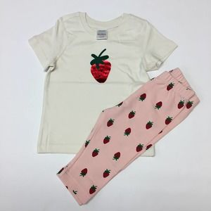 HANNA ANDDERSSON strawberry set 3T NWT